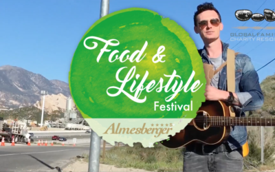 James Cottriall beim Food & Lifestyle Festival